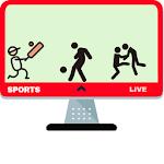 Sports Live (Scores,Live,News) Icon
