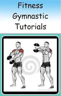 Fitness Gymnastic Tutorials Fitness app screenshot for Android