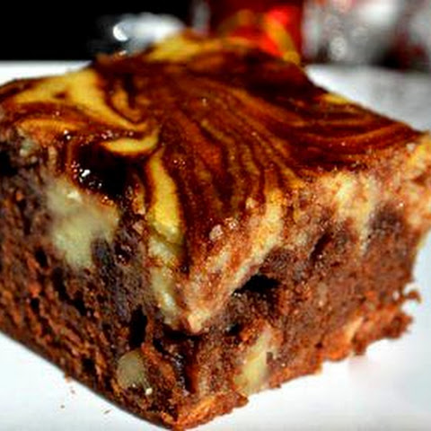 BROWNIE WITH THE TASTE OF AMARETTO AND RICOTTA