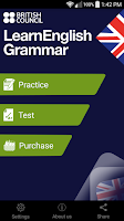Screenshot of LearnEnglish Grammar (UK ed.)