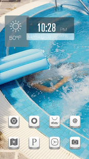 Cool summer theme - screenshot