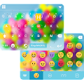 Color Bubble Emoji iKeyboard APK for Lenovo
