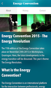 Energy Convention - screenshot
