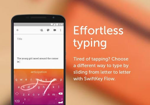 SwiftKey แป้นพิมพ์ APK screenshot thumbnail 3