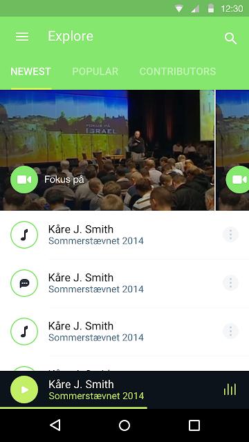 BMM Brunstad screenshots