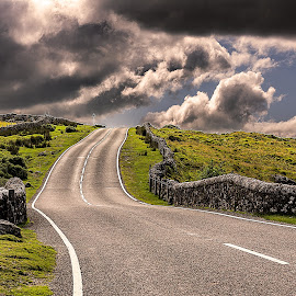 street by Christoph Reiter - Landscapes Travel ( england, cornwall, gb )