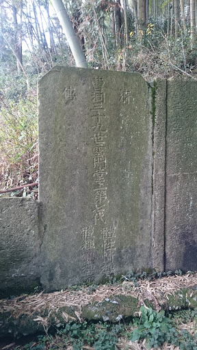 A Stone From Qing Dynasty