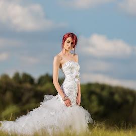 Geraldine by Jacques du Toit - Wedding Bride ( wedding photography, wedding photographers, nature, elegant, wedding, beautiful, outdoors, wedding dress, wedding photographer, bride, pretty )