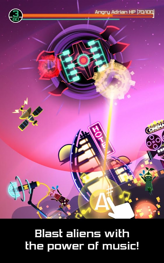 Groove Planet Beat Blaster MP3 Screenshot 0