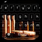 App Gun Bullet Keyboard Themes APK for Windows Phone