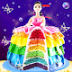 Rainbow Doll Cake bakery Game - DIY Cooking Kids