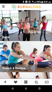 BurnAlong - Fitness Videos, Exercise Videos Fitness app screenshot for Android