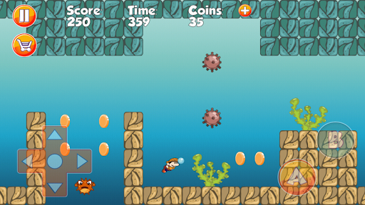 Super World Like Super Mario - screenshot
