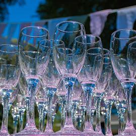 Sjampagne Glasses by Brenda Nel - Food & Drink Alcohol & Drinks ( glasses, sjampagne, decoration, function )