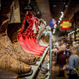 Nashville Boot Shop by T Sco - Uncategorized All Uncategorized ( shoppe, shop, nashville, boots, western, shoppers, store, boot, shoes, shopping, shelf,  )