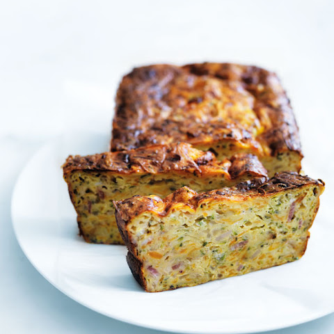 Zucchini And Sweet Potato Slice