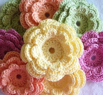 App Crochet Flower Pattern APK for Windows Phone Android games and ...
