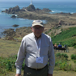 Dr Duane Norman on a visit to Jersey Island