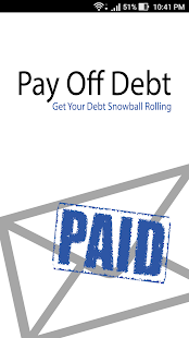 Pay Off Debt - New Version screenshot for Android