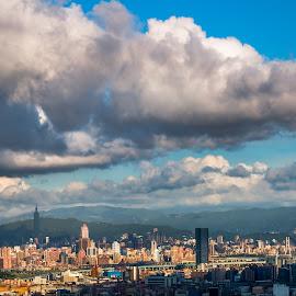 雲遮高樓,望盡千山,風貌依舊,娓娓道來 by Gary Lu - Landscapes Cloud Formations ( cloud formations, gary lu )