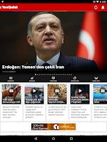 Screenshot of Yeni Şafak