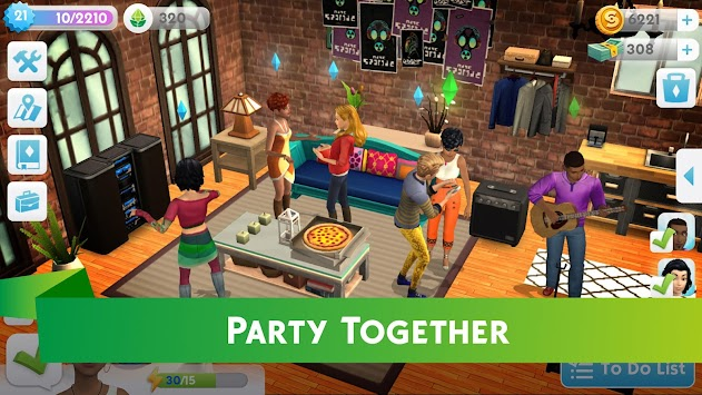 The Sims™ Mobile APK screenshot thumbnail 4