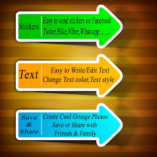 Colorful  Photo Frames(Grunge) - screenshot