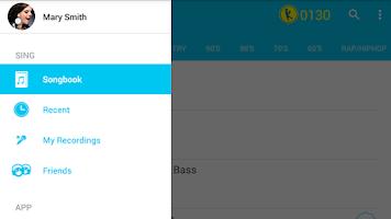 Screenshot of Karaoke Sing & Record