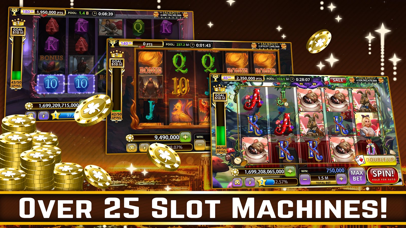 Hot Vegas SLOTS- FREE: No Ads! Screenshot 4