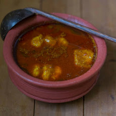 Spicy Nellore Chepala Pulusu - Andhra Fish Curry