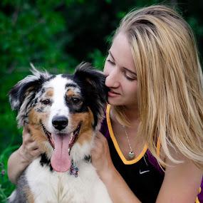 (8) 2014-08-04 by Richelle Wyatt - People Family ( jack, 2014, male, mini aussie, australian shepherd, erin, richelle leigh photography, portrait, richelle@richelleleighphotography.com, girl, female, woman, pet, august, 2014-08-04, puppy, august 2014, dog, www.richelleleighphotography.com, mini australian shepherd, mini, aussie, animal )