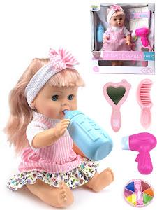 """Пупс """"Anna De Wailly"""" Вероничка 30см, розовый"""