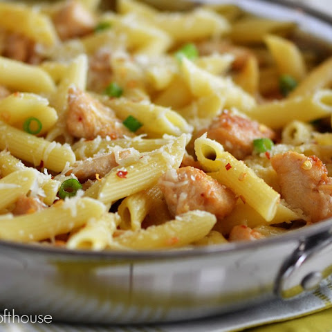 Spicy Parmesan Chicken Pasta