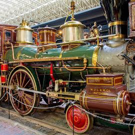 The Wm. Crooks Steam Locomotive by Gary Hanson - Artistic Objects Antiques ( steam locomotive, minnesota, engine, wm. crooks, st. paul )