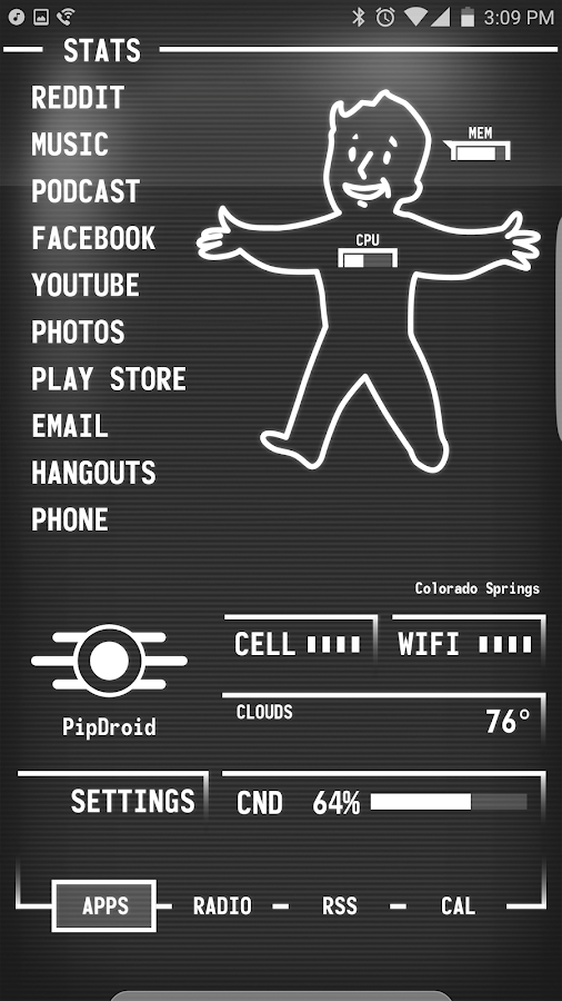 PipDroid 3000 for KLWP Screenshot 4