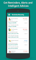 Screenshot of Daily Expense Manager