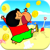 Shin Beach Adventure Run Game APK for Bluestacks