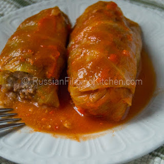 Golubtsy (Stuffed Cabbage Rolls)