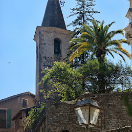 Castle Apricale by Roberta Sala - City,  Street & Park  Street Scenes ( street, apricale, castle, street scene, italy, street photography )