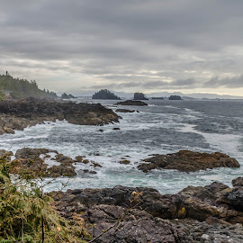 Rough waters by Jeff Colby - Landscapes Waterscapes ( water, waterscape, sea, ocean, landscape, ocean view, coast, hike )