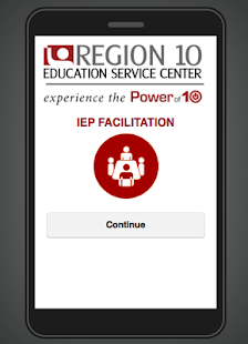 IEP Facilitation - screenshot