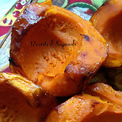 Roasted Red Kabocha Squash