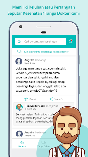 DokterBaBe screenshot 1