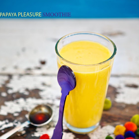 Papaya Pleasure Smoothie