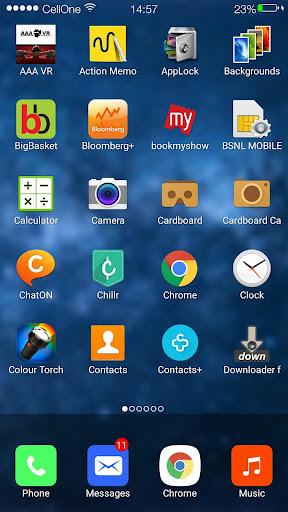 Ilauncher 7 i5 prime HD - screenshot