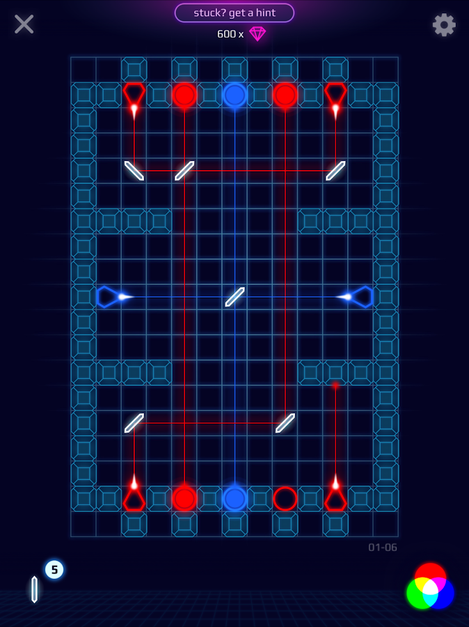 Laser Dreams - Brain Puzzle Screenshot 6
