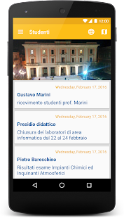 Unisannio - screenshot