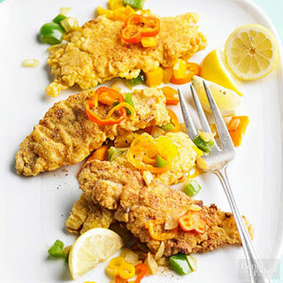 Crispy Fish and Peppers