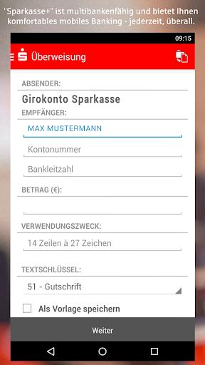 Sparkasse+ - screenshot