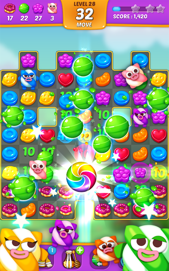 Lollipop: Sweet Taste Match 3 Screenshot 2
